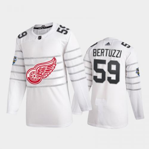 Detroit Red Wings Tyler Bertuzzi #59 2020 NHL All-Star Game Authentic White Jersey